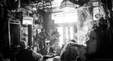 cigar smoke pub