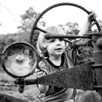 tractor kid